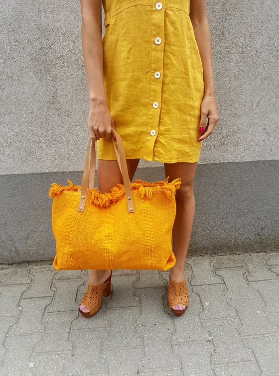 oranzova taska