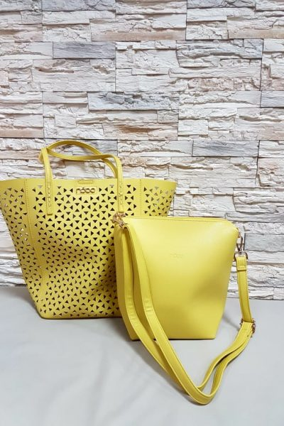 zlta kabelka