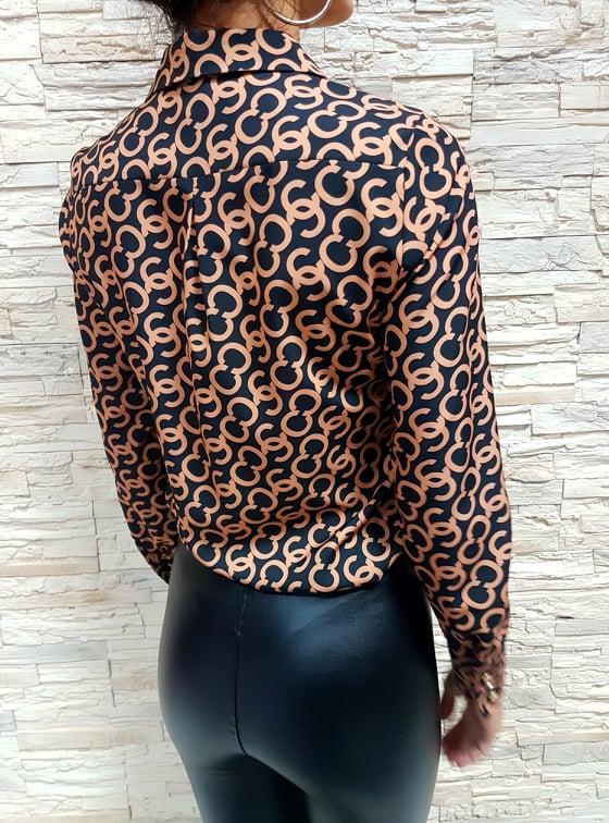 vzorovana bluzka