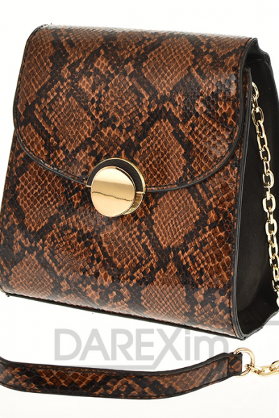 kabelka s hadim vzorom