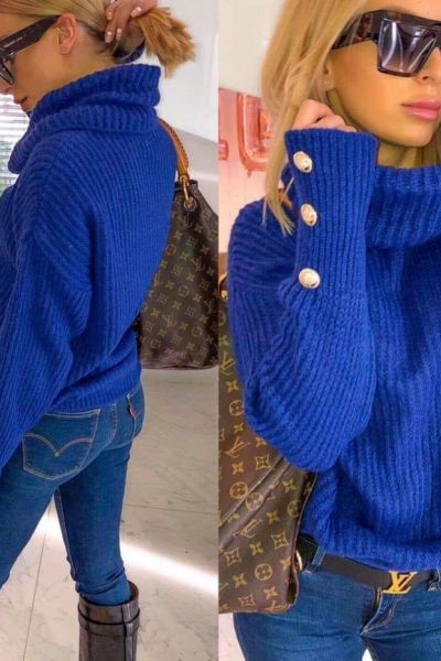 modry sveter