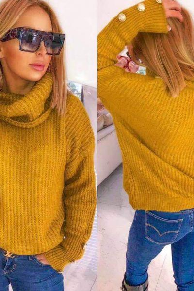 zlty sveter