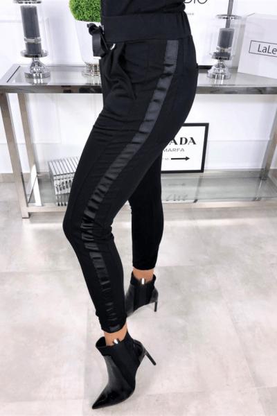 cierne teplakove nohavice