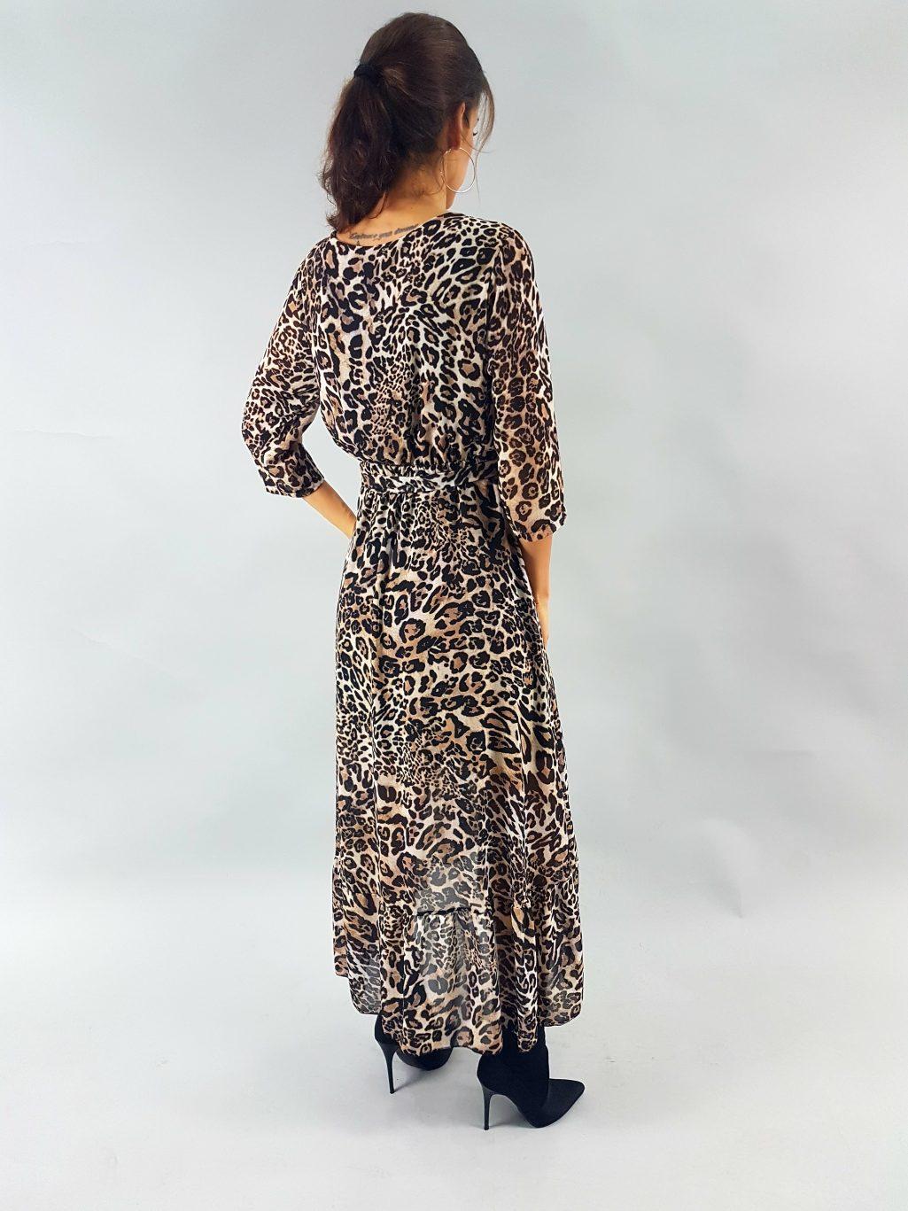 saty s leopardim vzorom