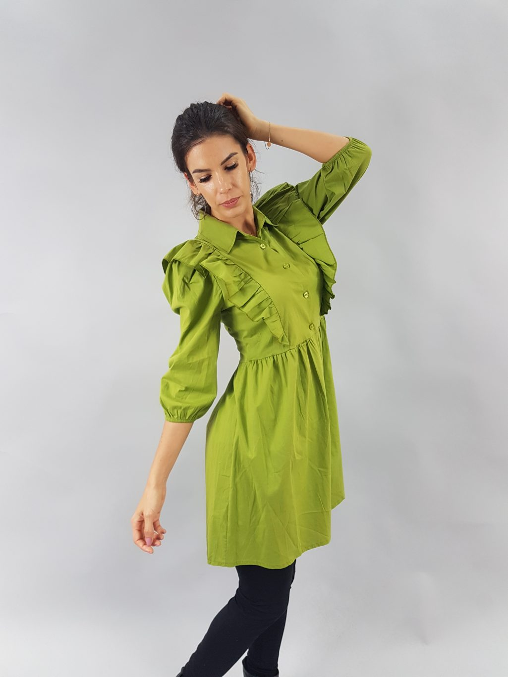 zelene saty
