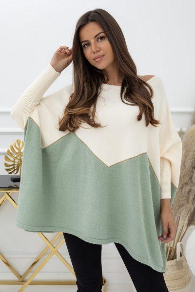 zeleny sveter